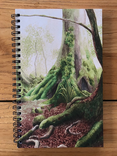 Rainforest Lined Notebook