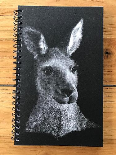 Kangaroo/Koala Lined Notebook