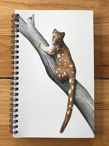 Quoll Lined Notebook