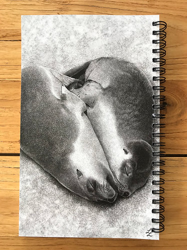 Seals Lined Notebook
