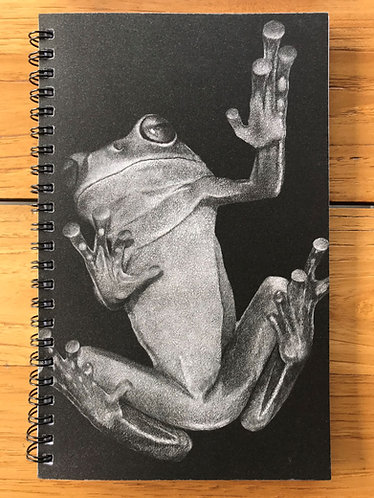 Frog/Toadstool Lined Notebook
