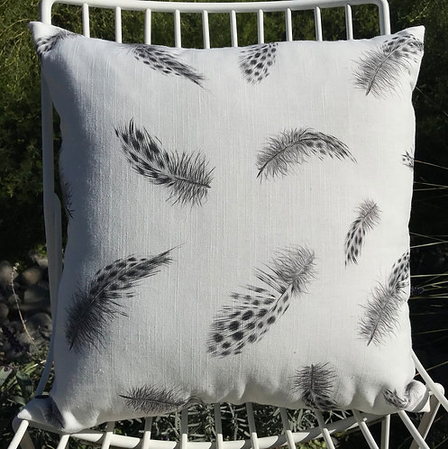 Feathers II - Square 40 x 40cm Cushion
