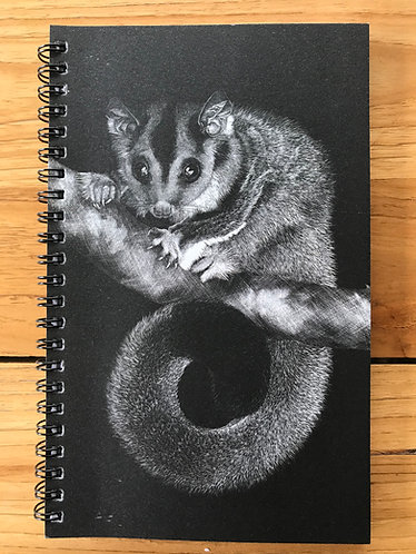 Squirrel Glider/Koala Lined Notebook