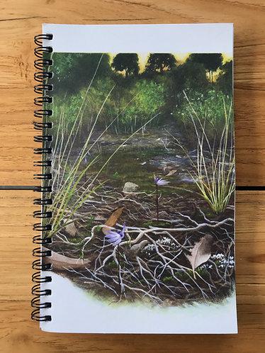 Blue Fairies Lined Notebook
