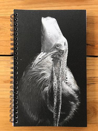 Cassowary/Squirrel Glider Lined Notebook