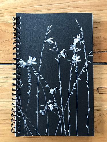 Butterfly Bush Lined Notebook