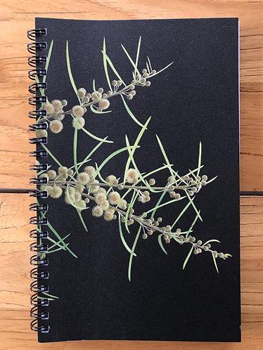 Wattle Lined Notebook