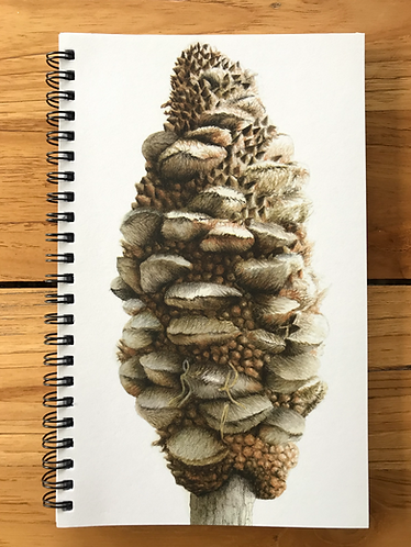 Banksia Lined Notebook