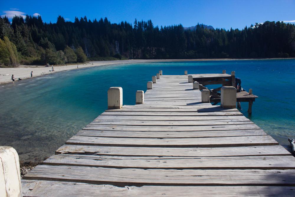Puente estilo requiem - Isla Victoria