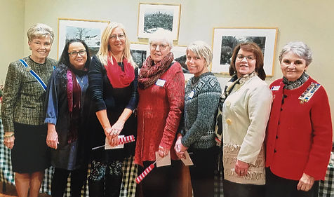 Fort du Rocher Chapter, NSDAR, Holiday Luncheon