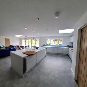 Scandi inspired kitchen space