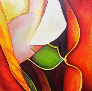 The A Series, Diptych 2, part 1, 90x90cm, oil on canvas, 2011