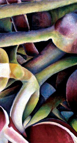 Wild Anenomes, 110x200cm, oil on canvas, 2003