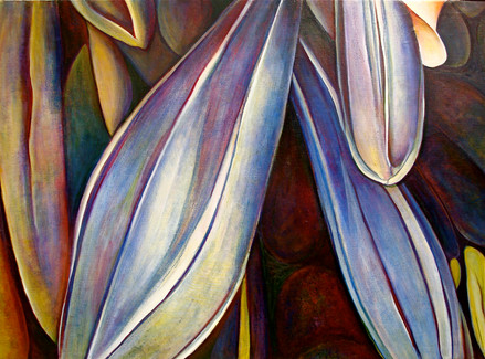 The Buds, comp. no.3, 140x208 cm, oil on canvas, 2010
