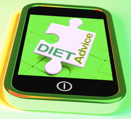 looking for diet advice on the phone