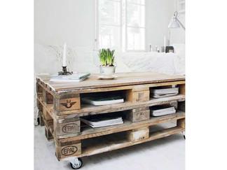 Spécial récup' : meubles en palettes