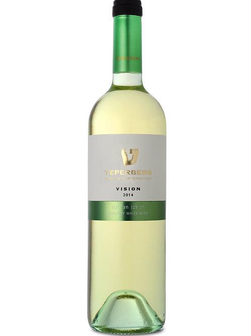 VISION טפרברג יין לבן חצי יבש