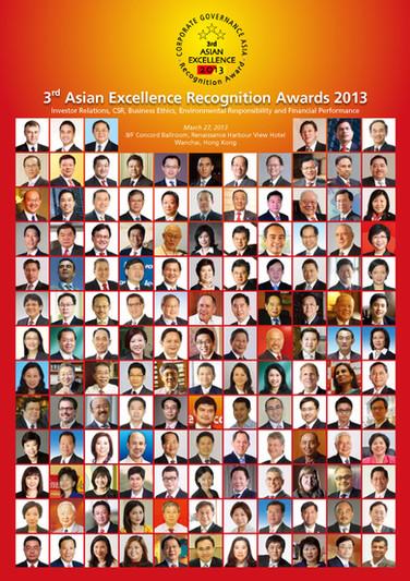 3rd Asian Excellence Award 2013
