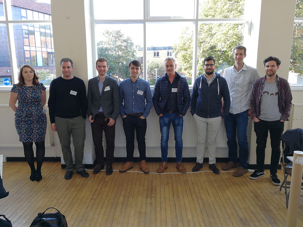 Picture of the Genever group attending UKMSC2017