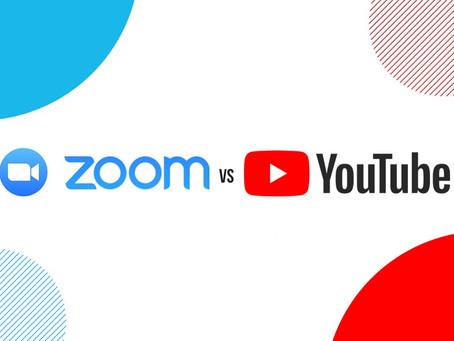 לשדר בזום או ביוטיוב?