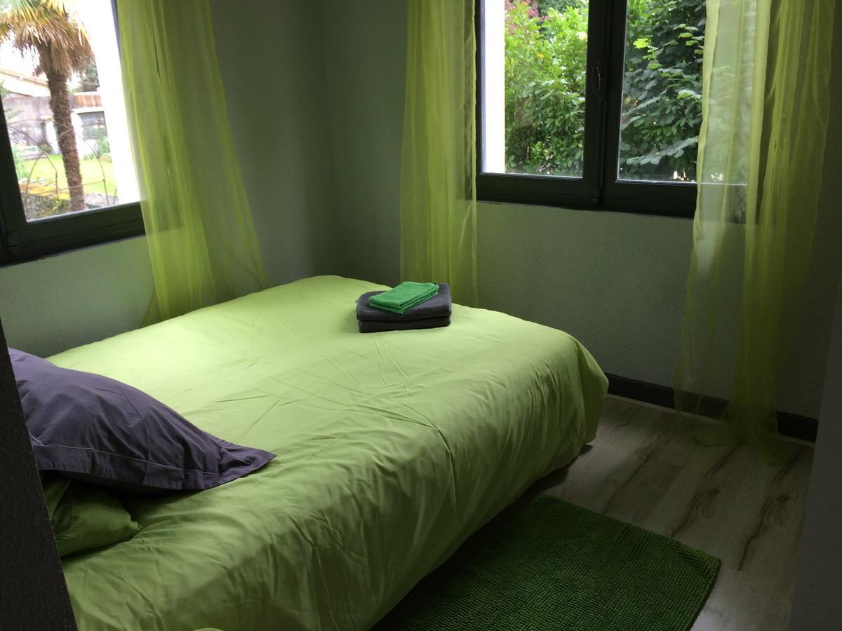 chambre vert
