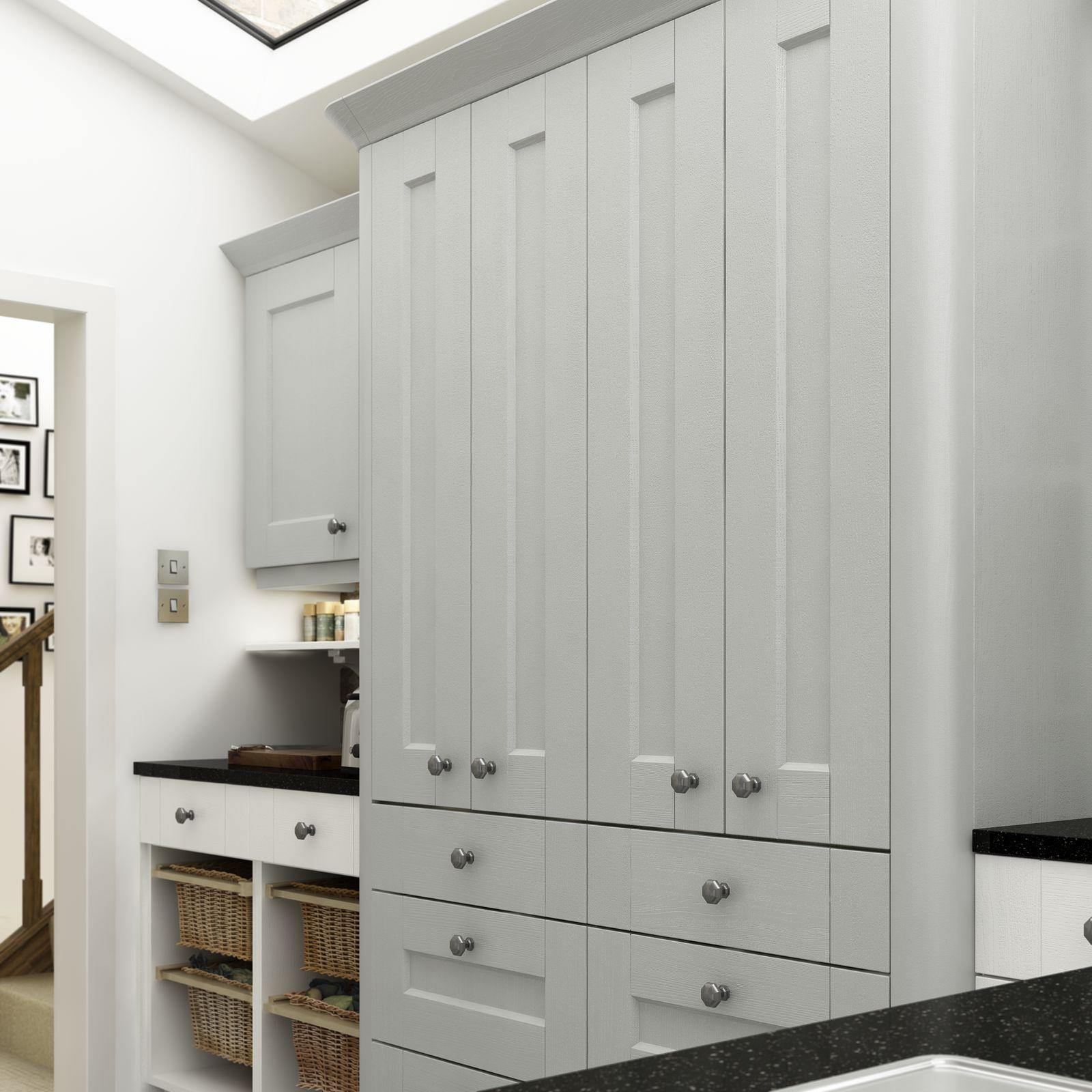 Ashbourne Dove Grey & Chalk White