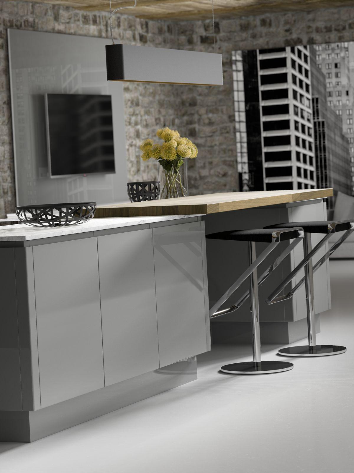 New York Gloss Dusk Grey & Pearl Grey De