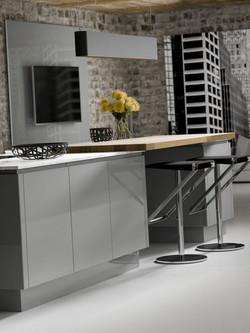 New York Gloss Dusk Grey & Pearl Grey