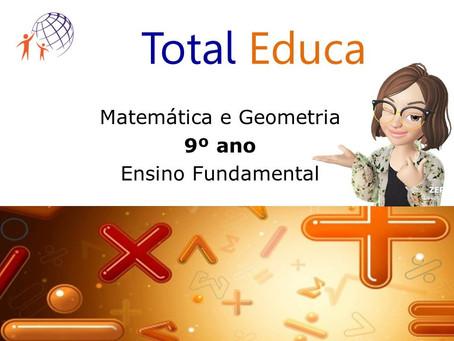 Curso Matemática e Geometria - 9º ano