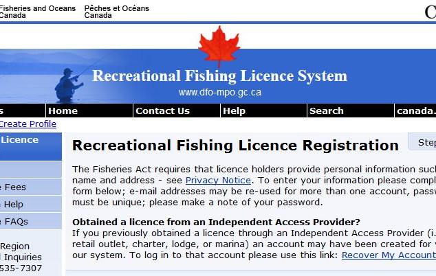 Fishing License