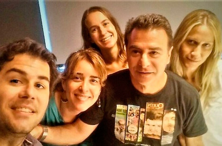 Reynaldo Sietecase en Radio con Vos invita al avant premiere de Buscando a Myu