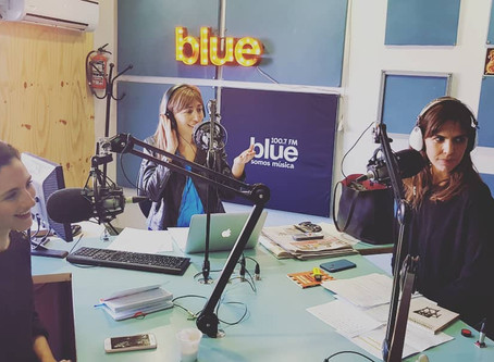 Gisela Busaniche en Radio Blue