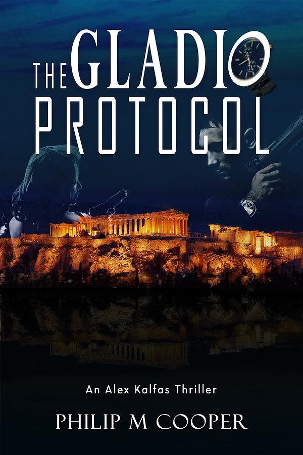 The Gladio Protocol 6 x 9 Book Cover ebo