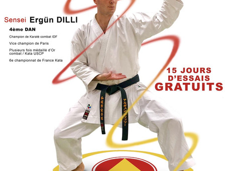 [KARATE-Centre de Paris] ESCP #ParisCentre  #Paris9