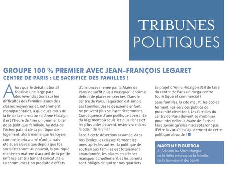 Centre de Paris : le sacrifice des familles !