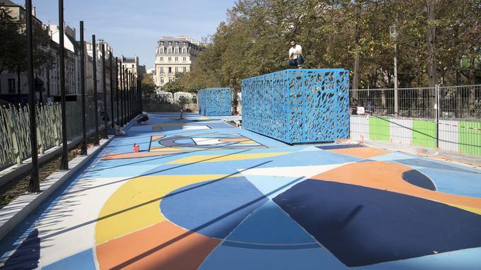 Playground - Jardin des Halles
