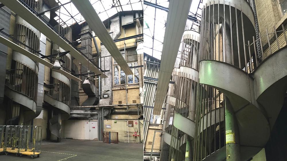 L'intérieur de la Poste du Louvre avant travaux