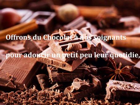 [Chocolats] 👉pour adoucir le quotidien des Soignants