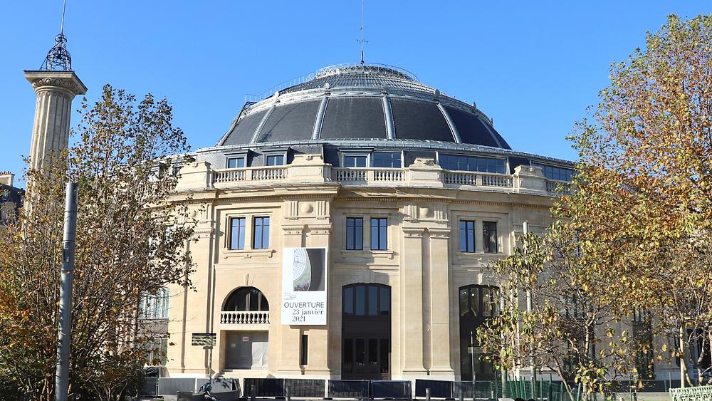 La Bourse de Commerce hébergeant la Collection Pinault