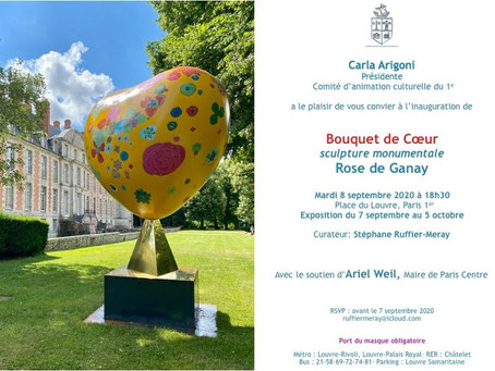[Save The Date] Mardi 8 septembre à 18h30 - Inauguration #ParisCentre