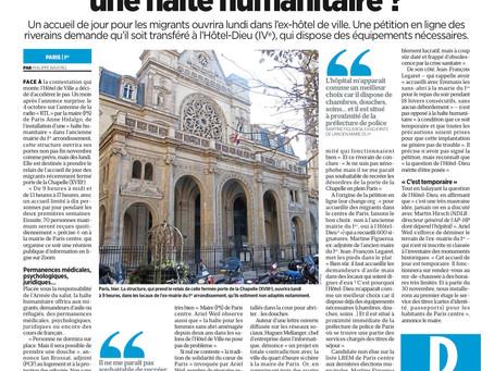 🆕 Pour accueillir des migrants dans #ParisCentre, faisons le bon choix !