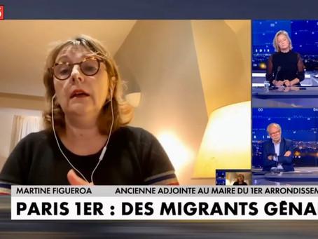 Accueil de migrants dans le centre de Paris : je continue de plaider la solution de l'Hôtel-Dieu !