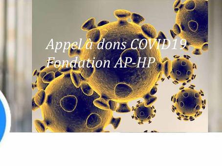 [Appel] 👉#Appel à dons COVID19
