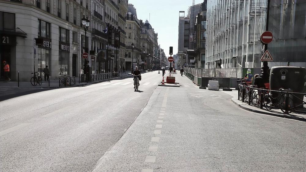 La rue de Rivoli désormais fermée à la circulation générale