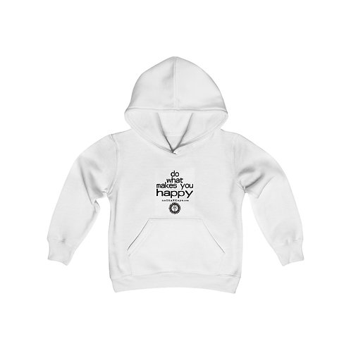 """""""Do What Makes You Happy""""  Youth Heavy Blend Hooded Sweatshirt (USA)"""