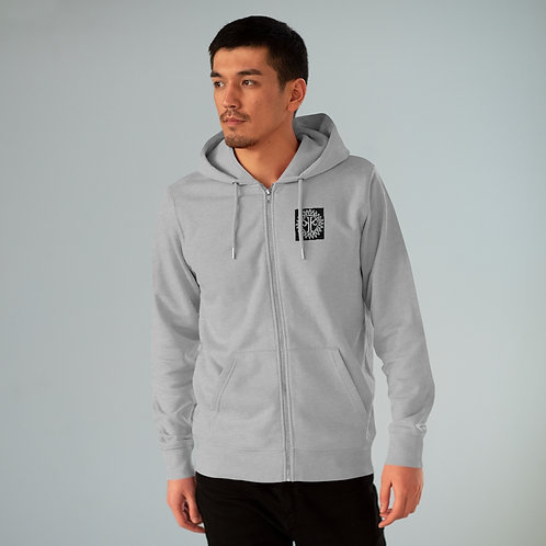 """""""Do What Makes You Happy"""" Men's Cultivator Zip Hoodie (Printed in Europe)"""