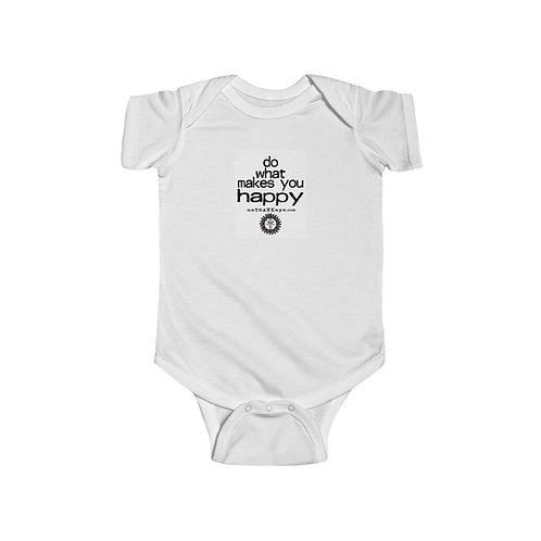 """""""Do What Makes You Happy"""" Infant Fine Jersey Bodysuit (Canada)"""