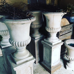 Stone Effect Urns and Plinths