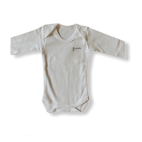 Name Long sleeve bodysuit