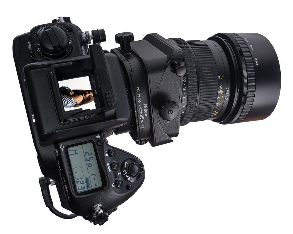 Nikon F5, ahogy a mérnökök kitalálták.
